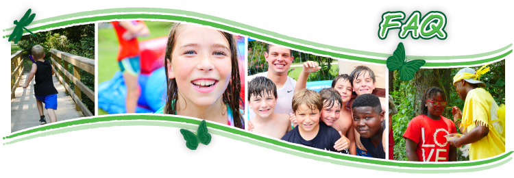 Frequently Asked Questions - Trinity Woods Summer Day Camp in Macon Georgia